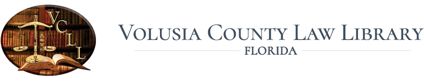 Volusia County Law Library Logo